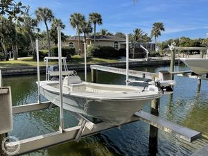 Used Andros Backwater 18 Skiff Fishing Boat For Sale