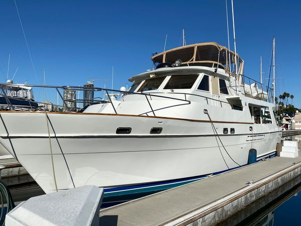 Used Med Yacht Angel Pilothouse 50 Motor Yacht For Sale