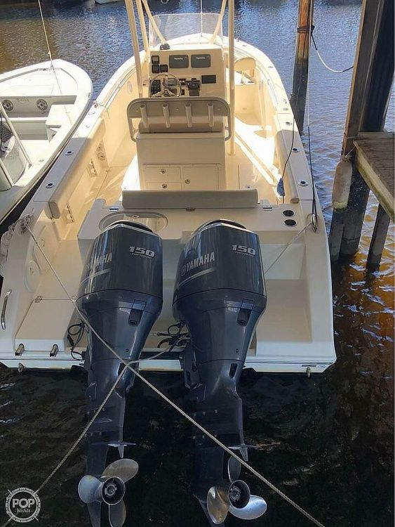 Used Cobia 256 CC Center Console Fishing Boat For Sale