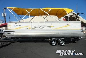 Used South Bay 8525CR I/O Pontoon Boat For Sale