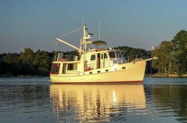 Used Kadey-Krogen Walkaround Fishing Boat For Sale