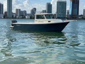 Used Parker 2320 Sport Cabin Saltwater Fishing Boat For Sale