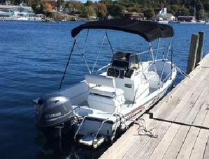 Used Triumph 170 CC Center Console Fishing Boat For Sale