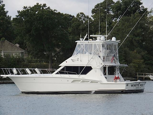 Used Hatteras 50 Convertible Sports Fishing Boat For Sale