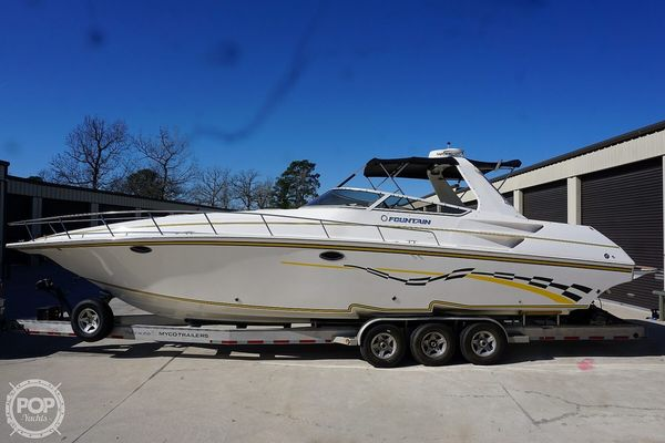 Used Fountain 38 High Performance Boat For Sale