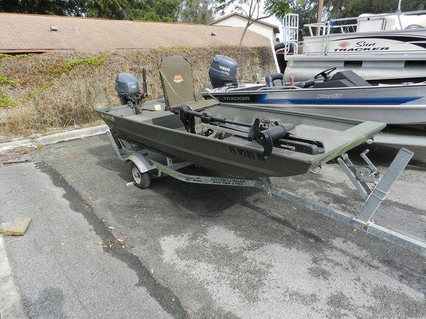 Used Alweld 12 Jon Boat For Sale
