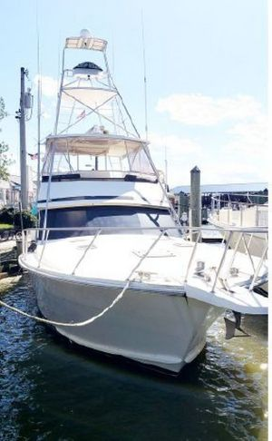 Used Viking 53 Convertible Saltwater Fishing Boat For Sale