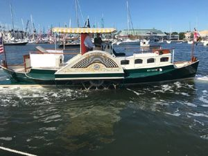 Used Tucker 35 Sidewheeler Paddleboat Antique and Classic Boat For Sale