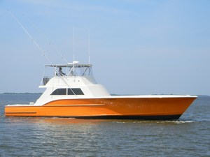 Used Custom Carolina Series 60 Convertible Fishing Boat For Sale