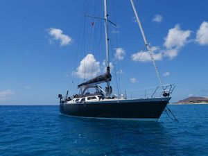 Used Custom Beason 40 Racer and Cruiser Sailboat For Sale