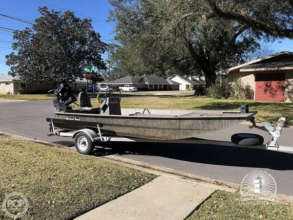 Used Gator Tail 1854 Flats Fishing Boat For Sale
