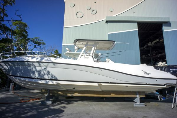 Used Deep Impact 36 Cabin Center Console Fishing Boat For Sale