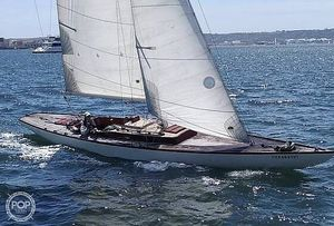 Used Classic 30 Square Meter Sloop Sailboat For Sale