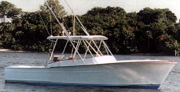 Used Gamefisherman 30 Saltwater Fishing Boat For Sale