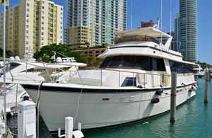 Used Hatteras Sportfish Enclosed Bridge Motor Yacht For Sale