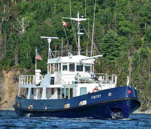 Used Custom Converted Royal Navy Fleet Tender Trawler Boat For Sale
