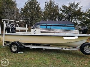 Used Egret 189 Carbon Kevlar Flats Fishing Boat For Sale