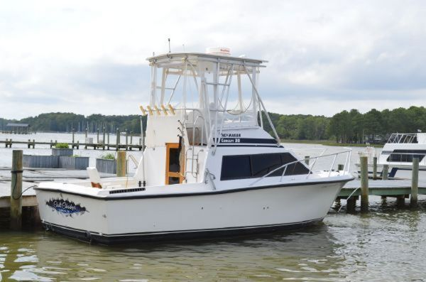 Used Pacemaker Concept 30 Sports Fishing Boat For Sale