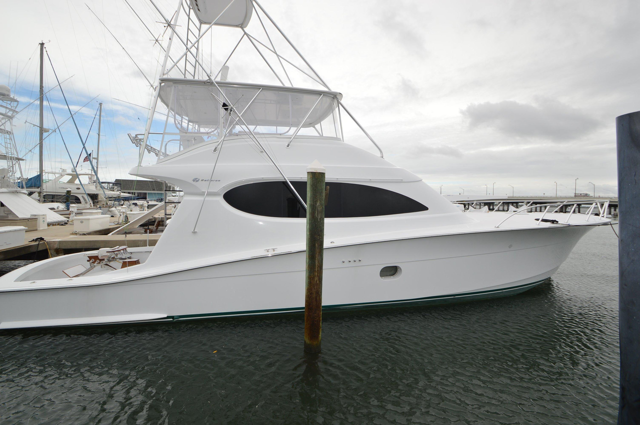 2006 used hatteras sports fishing boat for sale for Hatteras fishing boat
