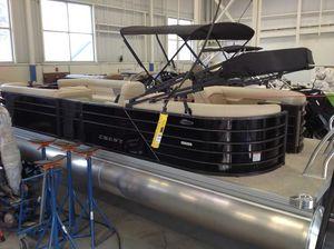 New Crest Cl Dlx 240slc Pontoon Boat For Sale
