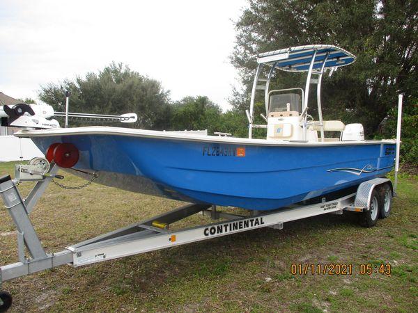 Used Carolina Skiff 24 DLX Commercial Boat For Sale