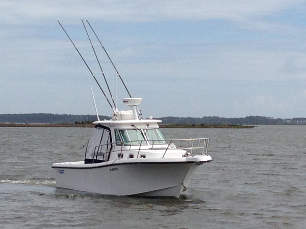 Used True World TE288 Sports Fishing Boat For Sale