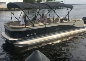 Used Avalon Catina 2585 QL Sea Water Pontoon Boat For Sale