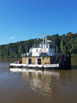 Used Ab 900 HP 49 5 Towboat Commercial Boat For Sale