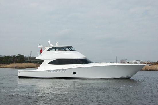 2017 new viking yachts enclosed bridge new build sports for Viking fishing boat
