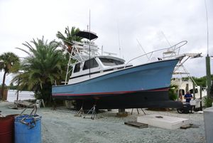 Used Jc Casco Bay 35 Downeast Fishing Boat For Sale