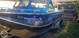 Used Duckworth 20 Aluminum Fishing Boat For Sale