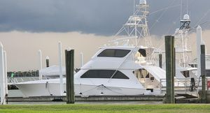 Used Viking 74 Enclosed Bridge Sports Fishing Boat For Sale