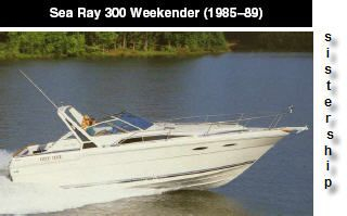 Used Sea Ray Express Weekender Express Cruiser Boat For Sale