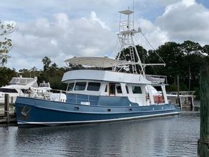 Used Custom Long Range Steel Trawler Boat For Sale