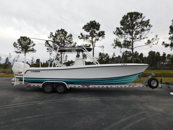 Used Contender 31 Center Console Saltwater Fishing Boat For Sale