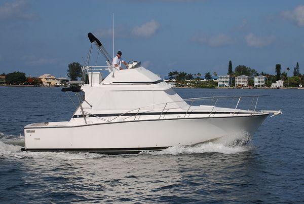 Used Bertram Flybridge Cruiser Convertible Fishing Boat For Sale