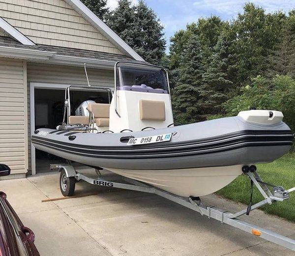 Used Brig Inflatables Navigator 570 Rigid Sports Inflatable Boat For Sale