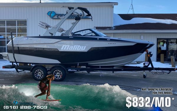 New Malibu M220 Ski and Wakeboard Boat For Sale