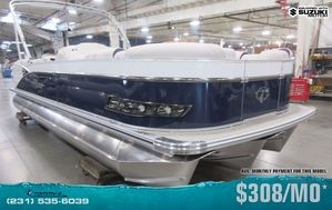 New Tahoe 2585 Cascade Platinum Quad Lounger w/Suzuki 200hp Motor Pontoon Boat For Sale