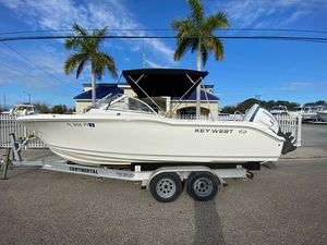Used Key West 239 DFS Center Console Fishing Boat For Sale