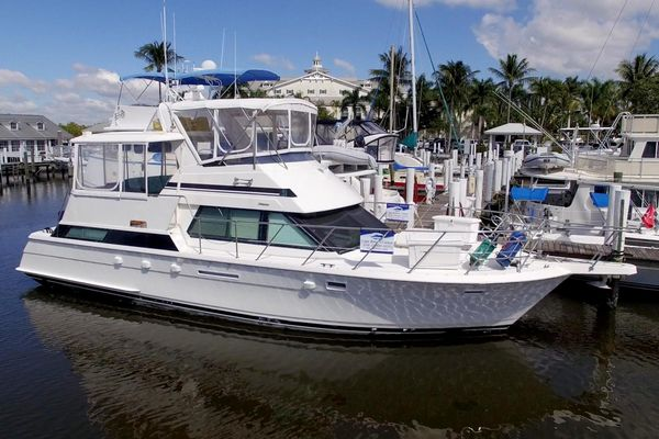 Used Hatteras 42 Cockpit Motor Yacht Motor Yacht For Sale
