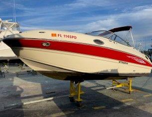Used Stingray 215 LR Bowrider Boat For Sale