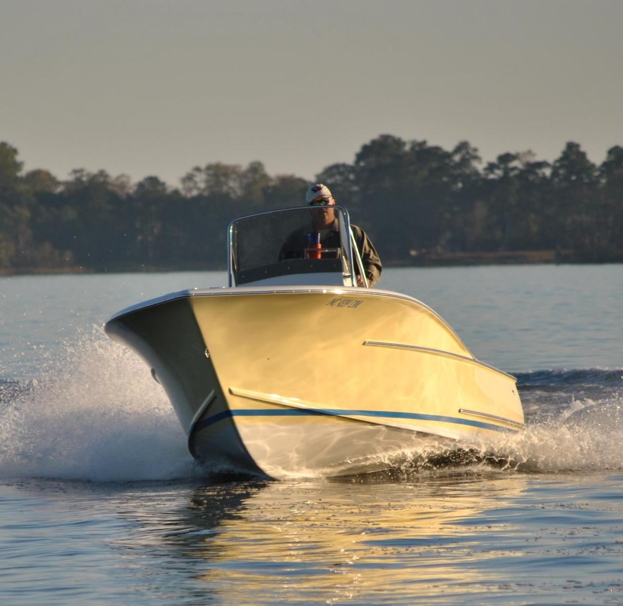 2009 used custom carolina hudson 20 center console center for Custom fishing boats