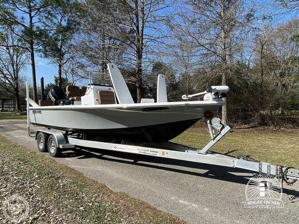 Used Sea Pro 228 DLX Bay Boat For Sale