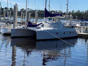 Used Manta 40 Sail Cat Catamaran Sailboat For Sale