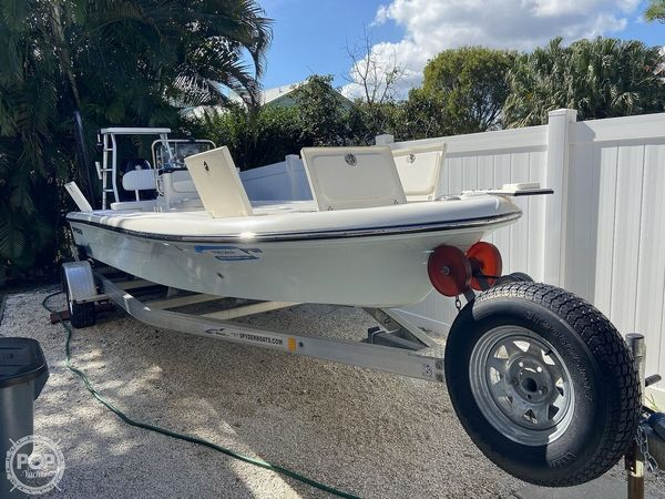 Used Spyder FX19 TRC VAPOR Flats Fishing Boat For Sale
