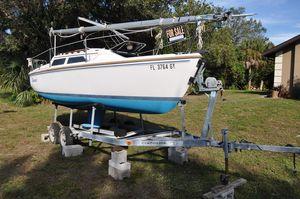 Used Catalina 22 Daysailer Sailboat For Sale
