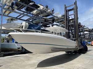 Used Intrepid 32X Cuddy Center Console Fishing Boat For Sale