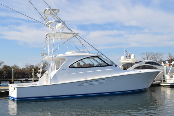 New Viking Yachts 52 Express & Sport Tower Sports Fishing Boat For Sale