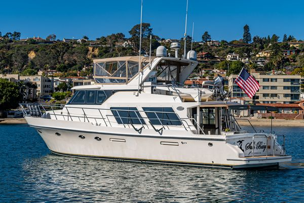 Used Symbol 52 Pilothouse Boat For Sale